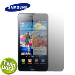Pack de 2 Protections d'écran Samsung Galaxy S2 Officielle