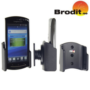 Use your Sony Ericsson Xperia neo safely in your vehicle with this small, neat and discreet Brodit Passive holder.