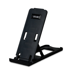 Secure, robust and portable, this portable, multi-angle Smartphone stand holds all smartphones in either portrait or landscape orientations.