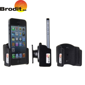 Use your iPhone 5S / 5 safely in your vehicle with this small, neat and discreet Brodit Passive holder