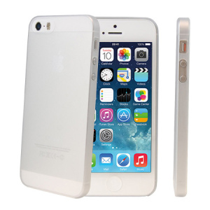 Keep your iPhone 5S / 5 protected from scratches and cosmetic damage with this extremely thin and fantastically lightweight white case.