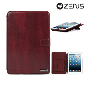 This red leather style Neo Classic Diary Case by Zenus is designed to provide the highest level of style, class and protection for your iPad Mini 3 / 2 / 1.