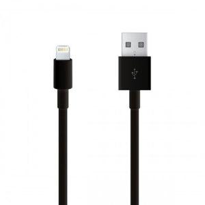 Deze lightning naar USB 2.0 kabel sluit je iPhone aan op laptops en USB laders voor efficiënt synchroniseren en opladen.