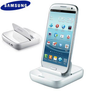 Support Bureau Samsung Charge & Synchronisation Micro USB - Blanc