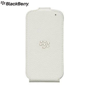 This genuine white BlackBerry protective Flip Shell has been specially designed for Q10 to give excellent protection and functionality.