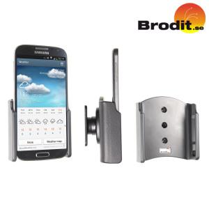 Gebruik je Samsung Galaxy S4 veilig in je auto met deze kleine, nette en discrete Brodit Passieve Houder.