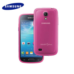 Official Samsung Galaxy S4 Mini Protective Cover Plus - Pink