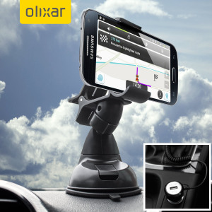 Essential items you need for your smartphone during a car journey all within the Olixar DriveTime In-Car Pack. Featuring a robust one-handed mounting phone car holder and car charger with additional USB port for your Samsung Galaxy S4 Mini.