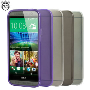 4 Pack FlexiShield HTC One M8 Cases