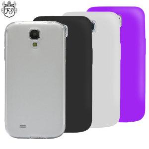 4 Pack FlexiShield Samsung Galaxy S4 Cases
