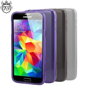 4 Pack FlexiShield Samsung Galaxy S5 Cases