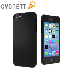 Funda iPhone 5S / 5 Cygnett AeroGrip Feel Ergonomic - Negra