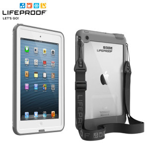 Experience the freedom to surf, sing in the shower, ski, snowboard, work on construction sites and have true iPad Mini 3 / 2 / 1 Mini freedom anywhere you go with the LifeProof Fre case in White and Grey!