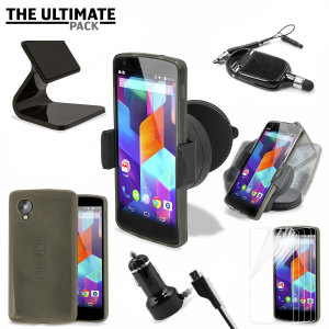 The ultimate Google Nexus 5 accessory pack contains must have items for your Nexus 5. Designed to protect and store your Nexus 5 at home, in the office and in the car.