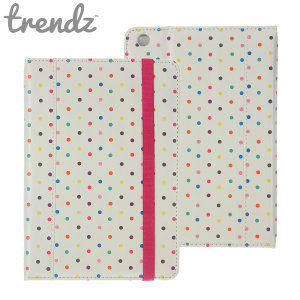 This Trendz Folio Stand Case features an eye-catching polka dot design and offers fantastic all-round protection for your iPad Mini 3 / 2 / 1.