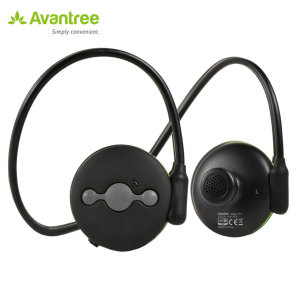 A lightweight and splash proof Bluetooth stereo headset in black ideal for jogging and exercising - with  Bluetooth 4.0 so you can connect two devices simultaneously, enjoy excellent sound quality and also features hands-free capabilities.