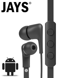 Auriculares a-JAYS Five para Android - Negros