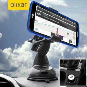 Houdt je telefoon veilig met deze verstelbare autohouder van DriveTime en tevens kan je toestel opladen. Speciaal gemaakt voor de LG G2.