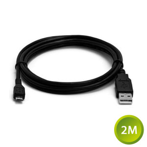 This 2 metre data / charging cable allows you to connect any device such as phones to a PC via Micro USB.