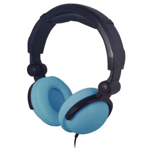 Enjoy your music with crystal clarity, defined bass and beautifully balanced sound with the BITnSound Headphones in Light blue - with adjustable headband for a comfortable fit, as well as premium ear cushioning and noise cancelling microphone.