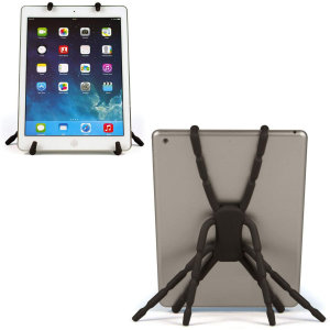 The Universal Spider Holder can be utilised as an accessory to virtually any tablet device available. The Spider Holder is very lightweight and compact making it the ultimate portable gadget and is tough to hold any tablet!