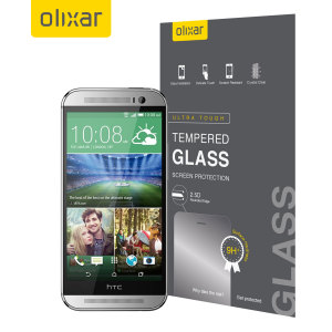 This ultra-thin tempered glass screen protector for the HTC One M8 from Olixar offers toughness, high visibility and sensitivity all in one package.