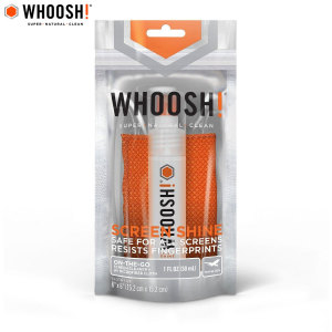 WHOOSH! Screen Shine is a superior, powerful, non-toxic cleaner specifically designed to clean ALL screens including smartphones, tablets, computers, laptops and more. The 30ml capacity is very much travel friendly.