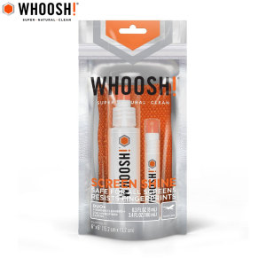 Whoosh! DUO 100ml Desk Bottle and 8ml Pocket Bottle with Cloth