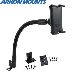 Arkon's Universal Smartphone Car Mount features an innovative holder that adjusts to fit devices up to 6.75 inches tall, even with cases on.