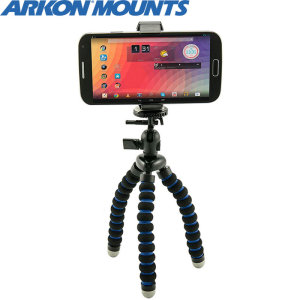 Adapt to all in and outdoor photography conditions by safely securing your phone/camera either to a tripod or by wrapping the tripod around a tree branch. This gives you all the stability you need to take shots without worrying about camera stability.