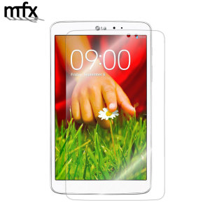 Keep your LG G Pad 8.3 screen in pristine condition with this MFX scratch-resistant screen protector.