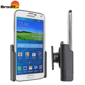 Use your Samsung Galaxy S5 safely in your vehicle with this small, neat and discreet Brodit Passive holder.