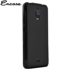 Crystal case-like protection with the durability of a silicone case for the Wiko Wax in black.