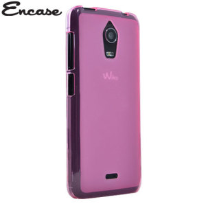 Encase FlexiShield Wiko Wax Case - Pink