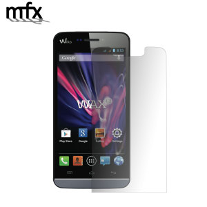 Keep your Wiko Wax screen in pristine condition with this MFX scratch-resistant screen protector.