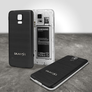 Ideal as a replacement or to add some style and class, this black aluminium back cover provides a perfect fit and look for your Samsung Galaxy S5