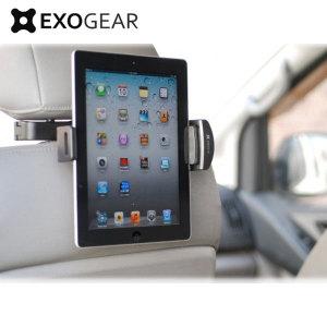 De Exomount Tablet hoofdsteun tablethouder laat je veilig en moeiteloos je 7inch - 10.1inch tablet bevestigen aan elke auto. De tablet kan ook worden verstelt naar de juiste positie voor een perfecte kijkpositie dankzij de 360 graden draaiende mechanisme. Bekijk films of speel games in het comfort van je bank.