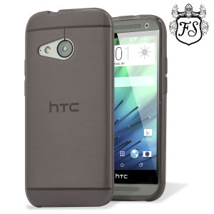 Custom moulded for the HTC One Mini 2, this smoke black FlexiShield case provides slim fitting and durable protection against damage.