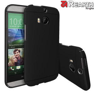 Provide your HTC One M8 with thin, snap-on protection with this Ringke Slim black polycarbonate case.