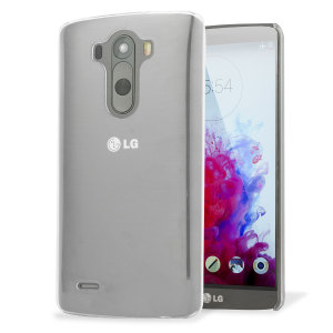 Funda LG G3 Polycarbonate Shell Case - 100% Transparente