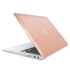 The ToughGuard Hard Case in gold gives your MacBook Air 13 inch the protection it needs without adding any unnecessary bulk.