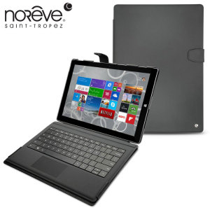 This is the most stylish leather case around for the Microsoft Surface Pro 3 The Noreve Tradition B leather case also features a desk stand and internal pockets for credit cards and notes.