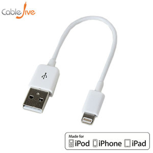 Make sure your Lightning devices are always fully charged with the iBoltz XS Apple Lightning to USB Sync and Charge Extra Short Cable with a tidy 12cm reach for Apple Lightning compatible phones and tablets.