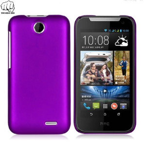 This purple slimline and robust hard plastic case from Toughguard will protect your HTC Desire 310 as well as add a touch of style.