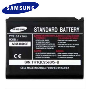 This official Samsung replacement battery for your Samsung Omnia will ensures that you have enough quality and reliable power.