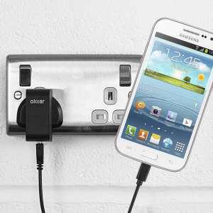 Charge your Samsung Galaxy S3 quickly and conveniently with this compatible 2.5A high power charging kit. Featuring mains adapter and USB cable.