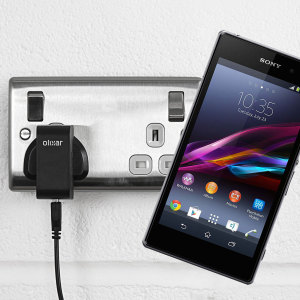 Charge your Sony Xperia Z1 quickly and conveniently with this compatible 2.5A high power charging kit. Featuring mains adapter and USB cable.