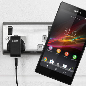 Charge your Sony Xperia Z quickly and conveniently with this compatible 2.4A high power charging kit. Featuring mains adapter and USB cable.