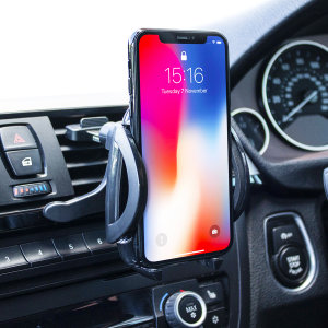 Keep your phone close at hand and safely in view while driving with the inVENT Pro Universal Air Vent Holder with one hand mounting & dismounting.