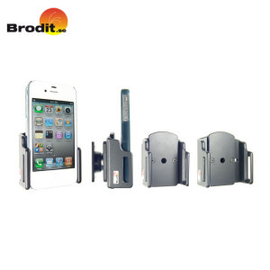 Use your smartphone safely in your vehicle with this small, neat and discreet Brodit Case Compatible Universal Passive holder, complete with tilt swivel.